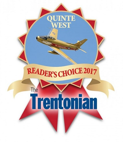 Quinte west reader's choice 2017 the trentonian logo