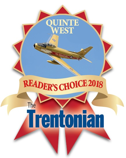 Quinte west reader's choice 2018 the trentonian logo
